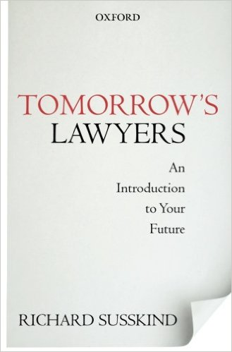 Tomorrow's Lawyers - Richard Susskind